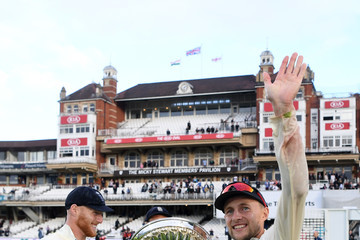 Stuart Broad England v India: Specsavers 5th Test - Day Five