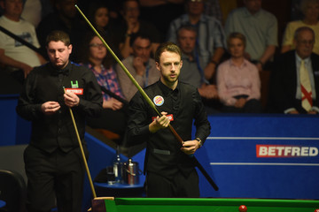 Stuart Carrington 2015 Betfred World Snooker Championship - Day Six