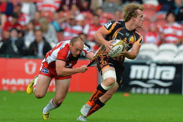 Stuart Townsend Singha Premiership Rugby 7s Series - Gloucester