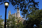 Yale University Law School is shown on the day the U.S. Senate Judiciary Committee was holding hearings for testimony from Supreme Court nominee Brett Kavanaugh and Dr. Christine Blasey Ford on September 27, 2018 in New Haven, Connecticut. Blasey Ford, a professor at Palo Alto University and a research psychologist at the Stanford University School of Medicine, has accused Kavanaugh of sexually assaulting her during a party in 1982 when they were high school students in suburban Maryland.