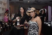 """Sandy """"Pepa"""" Denton and Cheryl """"Salt"""" Wray of Salt N Pepa attend the Style Icon 2011 Luxury Gifting Suite at Galt House Hotel & Suites Grand Ballroom on May 6, 2011 in Louisville, Kentucky."""