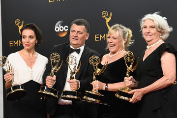 Sue Vertue 68th Annual Primetime Emmy Awards - Press Room