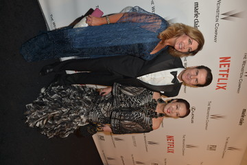 Sue Wong Vincent DePaul The Weinstein Company and Netflix Golden Globes Party — Part 2