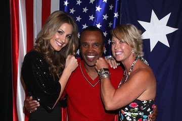 Lisa Curry Sugar Ray Leonard In Melbourne
