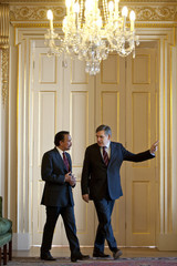 Sultan of Brunei Sultan Of Brunei Joins Gordon Brown For Signing Of Gurkha Agreement