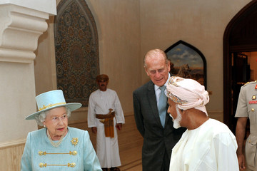 Sultan Qaboos bin Said Queen Elizabeth II And Prince Philip Visit Abu Dhabi - Day 4