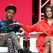 Brandon Mychal Smith and Kat Graham Photos