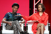 Brandon Mychal Smith and Kat Graham Photos Photo