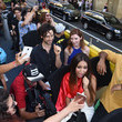 Summer Bishil SYFY's 'The Magicians' Surprise Fans on the Karaoke Bus at San Diego Comic-Con