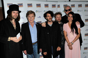 Aristazabal Hawkes Sundance London - Backstage At An Evening With Robert Redford And T Bone Burnett At Indig02