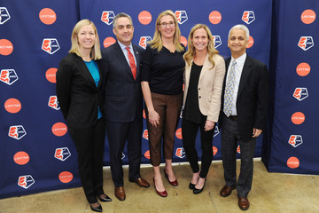 Sunil Gulati Lifetime National Women's Soccer League Press Conference