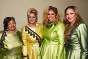 Elbernita Clark-Terrell, Jacky Clark-Chisholm,  Dorinda Clark-Cole and Karen Clark Sheard of The Clark Sisters at BET Presents 19th Annual Super Bowl Gospel Celebration at Bethel University on February 1, 2018 in St Paul, Minnesota.