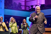 (L-R) Jacky Clark-Chisholm, Dorinda Clark-Cole and Karen Clark Sheard of The Clark Sisters with Honoree Pastor Rance Allen perform onstage during BET Presents 19th Annual Super Bowl Gospel Celebration at Bethel University on February 1, 2018 in St Paul, Minnesota.