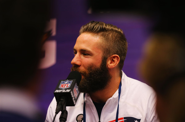 Julian Edelman Super Bowl Xlix Media Day Zimbio