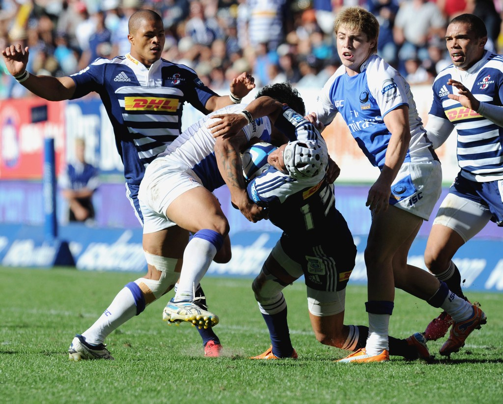 Stormers Picture: Gio Aplon In Super Rugby Rd 6