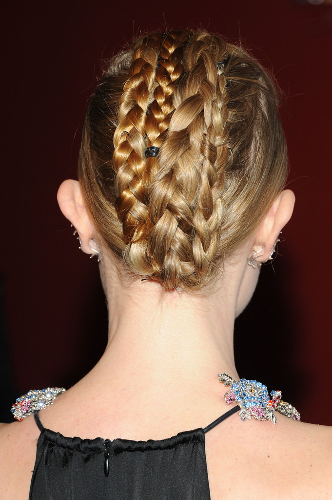 Hair Envy of the Day: Kate Bosworth's Braided Fauxhawk