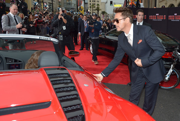 Arrivals at the 'Iron Man 3' Premiere
