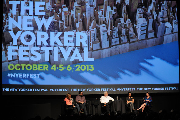 The New Yorker Festival 2013 - Without A Script - Rachel Dratch, Christopher Guest, Aubrey Plaza And Horatio Sanz With Susan Morrison