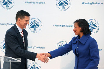 Susan Rice John Kerry, Susan Rice, Michael Flynn Attend 'Passing The Baton' Conference