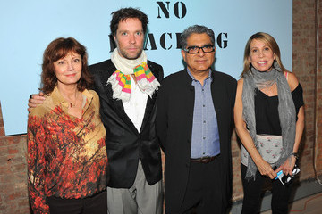 Susan Sarandon Yoko Ono's Imagine No Fracking Installation