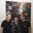 Susan Sarandon Michael Angel's 'Maps And Stacks' Presented By Gobbi Fine Art, New York City