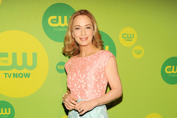 Susanna Thompson Celebs Arrive at the CW Upfront Event in NYC