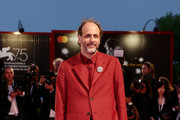Luca Guadagnino walks the red carpet ahead of the 'Suspiria' screening during the 75th Venice Film Festival at Sala Grande on September 1, 2018 in Venice, Italy.