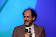 """Luca Guadagnino on stage at the UK Premiere of """"Suspiria"""" & Headline Gala during the 62nd BFI London Film Festival on October 16, 2018 in London, England."""