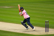 John Simpson of Middlesex bats during the NatWest T20 Blast South Group match between Sussex Sharks and Middlesex at The 1st Central County Ground on July 28, 2017 in Hove, England.