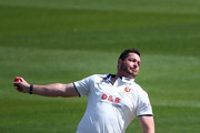 Jesse Ryder of Essex bowls during day one of the Specsavers County Championship Division Two match between Sussex and Essex at The 1st Central County Ground, on April 17, 2016 in Hove, England.