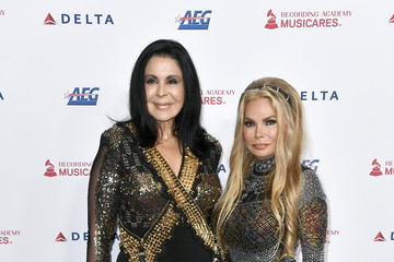Suzan Hughes MusiCares Person Of The Year Honoring Aerosmith - Arrivals