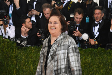 Suzy Menkes 'Manus x Machina: Fashion In An Age of Technology' Costume Institute Gala - Arrivals