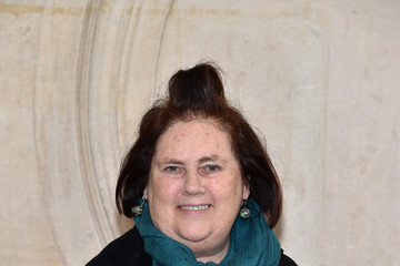 Suzy Menkes Christian Dior : Photocall - Paris Fashion Week - Haute Couture Spring Summer 2017