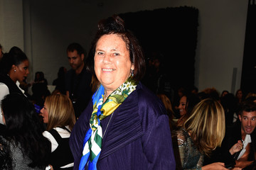 Suzy Menkes Vera Wang Collection - Front Row - Mercedes-Benz Fashion Week Spring 2015