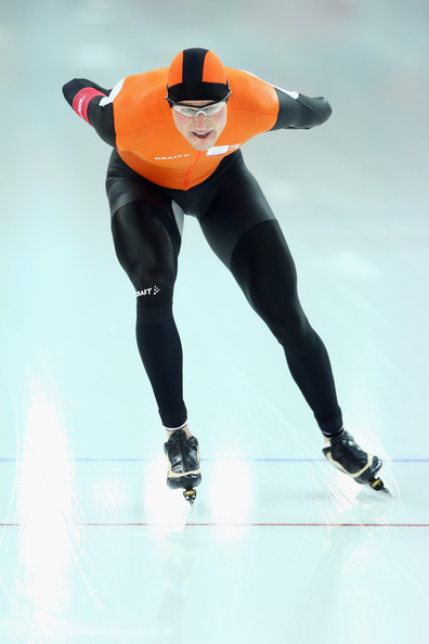 Sven Kramer - Speed Skating - Winter Olympics Day 1