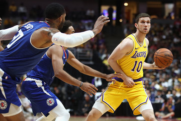 01af68222 Sviatoslav Mykhailiuk Los Angeles Clippers vs. Los Angeles Lakers