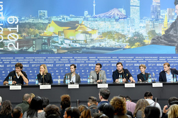 Swann Arlaud 'Grace A Dieu' Press Conference - 69th Berlinale International Film Festival