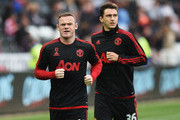 Wayne Rooney and Matteo Darmian Photos Photo