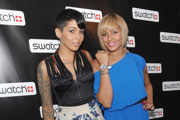 Nina Sky Swatch CreArt Collection Featuring Billy The Artist Launch Party