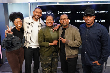 Sway Calloway Heather B SiriusXM's Town Hall With The Cast Of 'Bad Boys For Life' Hosted By SiriusXM's Sway Calloway