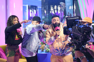 Sway Calloway Jamila Mustafa 'MTV Presents: Khaled Con,' A DJ Khaled-Hosted Fan Event In MTV's Times Square Studio, Celebrating The Release Of 'Father Of Asahd'