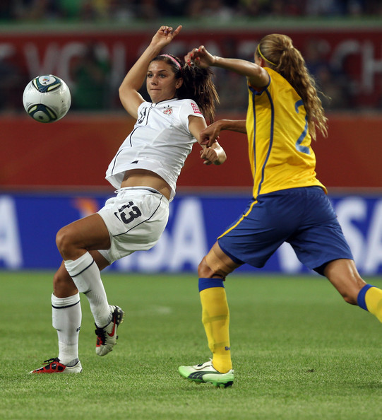 Alex Morgan Abs Alex morgan of usa runs during