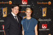 Carolina Kluft attends the Swedish Sports Gala at the Ericsson Globe on January 25, 2016 in Stockholm, Sweden.