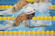 Rebecca Soni of the United States competes in heat four of the Women's 50m Breaststroke heats during Day Fifteen of the 14th FINA World Championships at the Oriental Sports Center on July 30, 2011 in Shanghai, China.