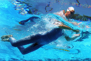 Rebecca Soni of United States competes in the Women's 200m Breaststroke Heats  during the 13th FINA World Championships at the Stadio del Nuoto on July 30, 2009 in Rome, Italy.