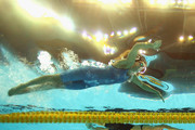 Rebecca Soni of the United States and Yuliya Efimova of Russia compete in the Women's 200m Breaststroke Final during Day Fourteen of the 14th FINA World Championships at the Oriental Sports Center on July 29, 2011 in Shanghai, China.