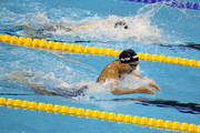 Rebecca Soni of the United States competes on the way to winning the gold medal in the Women's 200m Breaststroke Final during Day Fourteen of the 14th FINA World Championships at the Oriental Sports Center on July 29, 2011 in Shanghai, China.