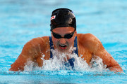 Rebecca Soni of the United States competes in the Women's 200m Breaststroke Final during the 13th FINA World Championships at the Stadio del Nuoto on July 31, 2009 in Rome, Italy.