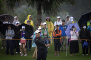 Yani Tseng of Chinese Taipei hits a shot on the second hole during day one of Swinging Skirts LPGA Taiwan Championship on October 19, 2017 in Taipei, Taiwan.