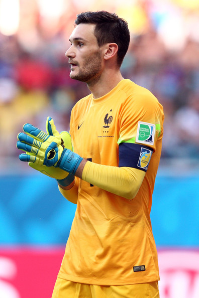 Hugo Lloris of France in action during the 2014 FIFA World Cup Brazil Group E match between Switzerland and France at Arena Fonte Nova on June 20, 2014 in Salvador, Brazil.